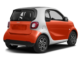 Lava Orange Metallic 2017 smart fortwo Pictures fortwo Coupe 2D Proxy I3 Turbo photos rear view