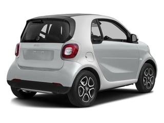 Moon White Matte 2017 smart fortwo Pictures fortwo Coupe 2D Proxy I3 Turbo photos rear view