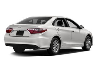 Super White 2017 Toyota Camry Pictures Camry Sedan 4D XLE I4 photos rear view