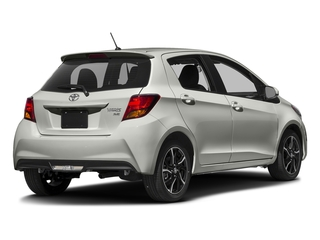 Classic Silver Metallic 2017 Toyota Yaris Pictures Yaris Hatchback 5D SE I4 photos rear view