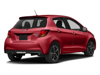 Barcelona Red Metallic 2017 Toyota Yaris Pictures Yaris Hatchback 5D SE I4 photos rear view