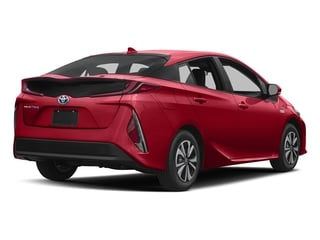 Hypersonic Red 2017 Toyota Prius Prime Pictures Prius Prime Liftback 5D Prime Plus I4 Hybrid photos rear view