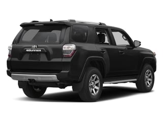 Midnight Black Metallic 2017 Toyota 4Runner Pictures 4Runner Utility 4D TRD Off-Road 4WD V6 photos rear view