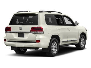 Blizzard Pearl 2017 Toyota Land Cruiser Pictures Land Cruiser Utility 4D 4WD V8 photos rear view