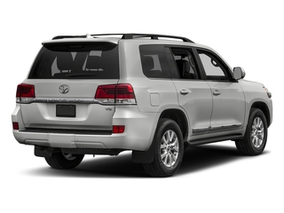 Classic Silver Metallic 2017 Toyota Land Cruiser Pictures Land Cruiser Utility 4D 4WD V8 photos rear view