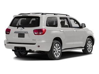 Super White 2017 Toyota Sequoia Pictures Sequoia Utility 4D Limited 2WD V8 photos rear view