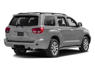 Silver Sky Metallic 2017 Toyota Sequoia Pictures Sequoia Utility 4D Limited 2WD V8 photos rear view