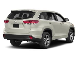 Blizzard Pearl 2017 Toyota Highlander Pictures Highlander Utility 4D LE 4WD V6 photos rear view