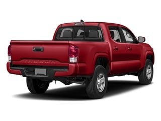 Barcelona Red Metallic 2017 Toyota Tacoma Pictures Tacoma SR Crew Cab 4WD V6 photos rear view