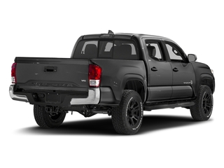 Magnetic Gray Metallic 2017 Toyota Tacoma Pictures Tacoma SR5 Crew Cab 2WD V6 photos rear view