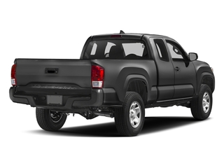 Magnetic Gray Metallic 2017 Toyota Tacoma Pictures Tacoma SR Extended Cab 2WD V6 photos rear view