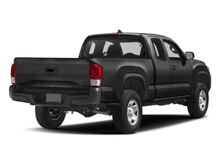 Black 2017 Toyota Tacoma Pictures Tacoma SR Extended Cab 2WD V6 photos rear view
