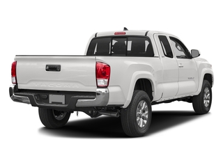 Super White 2017 Toyota Tacoma Pictures Tacoma SR5 Extended Cab 2WD V6 photos rear view
