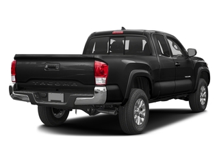 Black 2017 Toyota Tacoma Pictures Tacoma SR5 Extended Cab 2WD V6 photos rear view