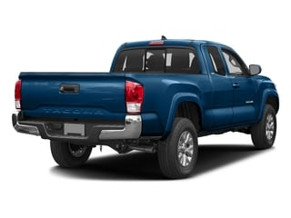 Blazing Blue Pearl 2017 Toyota Tacoma Pictures Tacoma SR5 Extended Cab 2WD V6 photos rear view