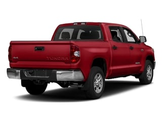 Barcelona Red Metallic 2017 Toyota Tundra 2WD Pictures Tundra 2WD SR5 CrewMax 2WD photos rear view