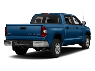Blazing Blue Pearl 2017 Toyota Tundra 4WD Pictures Tundra 4WD SR5 CrewMax 4WD photos rear view