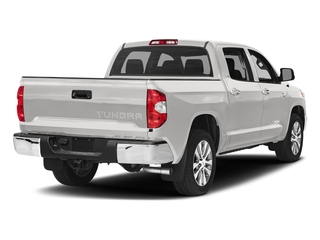 Super White 2017 Toyota Tundra 4WD Pictures Tundra 4WD Limited CrewMax 4WD photos rear view