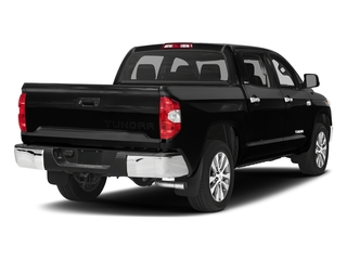 Midnight Black Metallic 2017 Toyota Tundra 4WD Pictures Tundra 4WD Limited CrewMax 4WD photos rear view