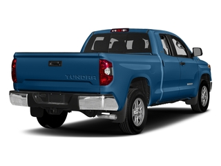 Blazing Blue Pearl 2017 Toyota Tundra 2WD Pictures Tundra 2WD SR5 Double Cab 2WD photos rear view