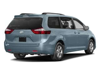 Sky Blue Pearl 2017 Toyota Sienna Pictures Sienna Wagon 5D LE AWD V6 photos rear view