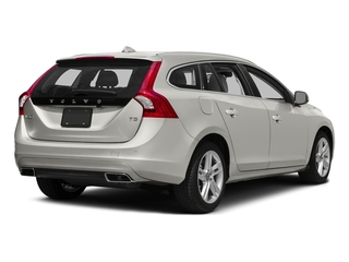 Crystal White Pearl 2017 Volvo V60 Pictures V60 Wagon 4D T5 Platinum AWD Turbo photos rear view