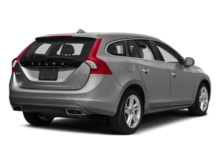 Bright Silver Metallic 2017 Volvo V60 Pictures V60 Wagon 4D T5 Platinum AWD Turbo photos rear view
