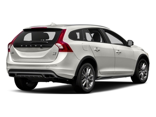 Crystal White Pearl 2017 Volvo V60 Cross Country Pictures V60 Cross Country Wagon 5D T5 Platinum AWD I4 Turbo photos rear view