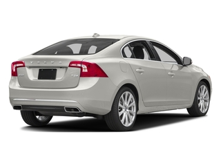Crystal White Pearl 2017 Volvo S60 Pictures S60 Sedan 4D Insciption T5 Platinum AWD photos rear view