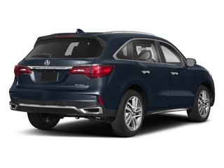 Fathom Blue Pearl 2018 Acura MDX Pictures MDX SH-AWD w/Advance Pkg photos rear view