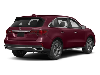 Basque Red Pearl II 2018 Acura MDX Pictures MDX Utility 4D 2WD photos rear view