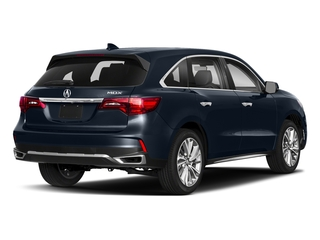 Fathom Blue Pearl 2018 Acura MDX Pictures MDX FWD w/Technology Pkg photos rear view