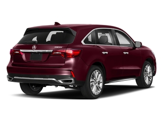 Basque Red Pearl II 2018 Acura MDX Pictures MDX FWD w/Technology Pkg photos rear view