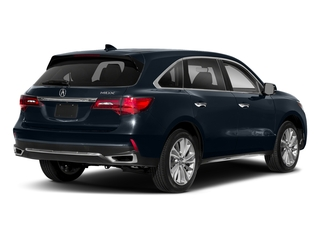 Fathom Blue Pearl 2018 Acura MDX Pictures MDX Utility 4D Technology DVD 2WD photos rear view