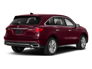 Basque Red Pearl II 2018 Acura MDX Pictures MDX Utility 4D Technology DVD 2WD photos rear view
