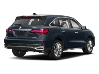 Fathom Blue Pearl 2018 Acura MDX Pictures MDX SH-AWD w/Technology Pkg photos rear view