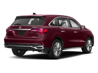 Basque Red Pearl II 2018 Acura MDX Pictures MDX SH-AWD w/Technology Pkg photos rear view
