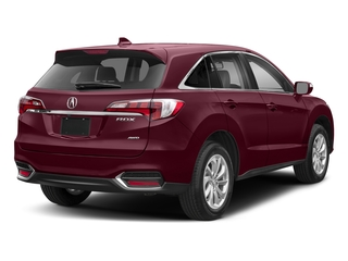 Basque Red Pearl II 2018 Acura RDX Pictures RDX AWD w/Technology Pkg photos rear view