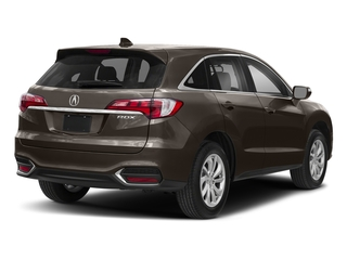Kona Coffee Metallic 2018 Acura RDX Pictures RDX Utility 4D Technology 2WD V6 photos rear view