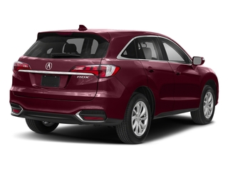 Basque Red Pearl II 2018 Acura RDX Pictures RDX Utility 4D Technology 2WD V6 photos rear view