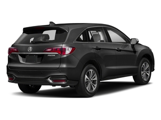 Crystal Black Pearl 2018 Acura RDX Pictures RDX Utility 4D Advance 2WD V6 photos rear view
