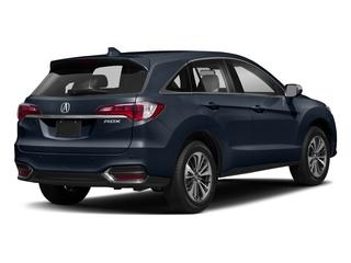 Fathom Blue Pearl 2018 Acura RDX Pictures RDX Utility 4D Advance 2WD V6 photos rear view