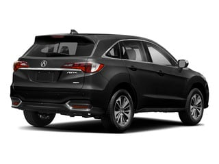 Crystal Black Pearl 2018 Acura RDX Pictures RDX AWD w/Advance Pkg photos rear view