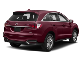 Basque Red Pearl II 2018 Acura RDX Pictures RDX AWD w/AcuraWatch Plus photos rear view