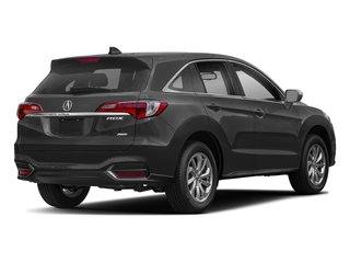Modern Steel Metallic 2018 Acura RDX Pictures RDX Utility 4D AWD V6 photos rear view
