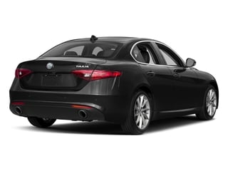 Vulcano Black Metallic 2018 Alfa Romeo Giulia Pictures Giulia Ti AWD photos rear view
