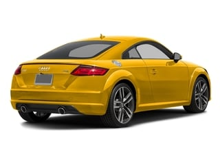 Vegas Yellow 2018 Audi TT Coupe Pictures TT Coupe 2.0 TFSI photos rear view