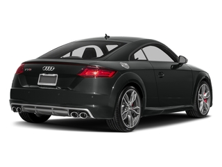 Mythos Black Metallic 2018 Audi TTS Pictures TTS 2.0 TFSI photos rear view