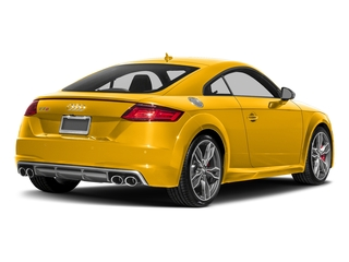 Vegas Yellow 2018 Audi TTS Pictures TTS 2.0 TFSI photos rear view