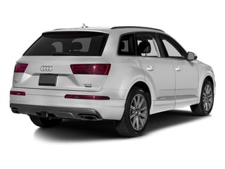 Glacier White Metallic 2018 Audi Q7 Pictures Q7 3.0 TFSI Prestige photos rear view